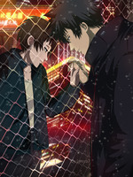 Psycho-pass: Kogami x Akane - Separated by Lesya7