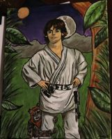 Luke on Endor by marlainawho