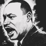 Dr. Martin Luther King Jr. by c0nr4d