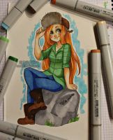 Wendy Corduroy - copic markers by Nasuki100