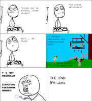Rage Comic: Squirrels by jutto