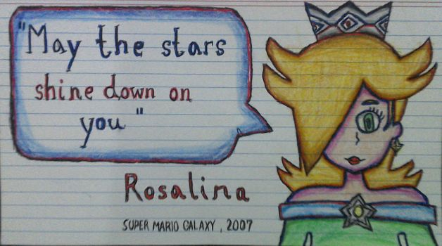 Rosalina: The Galaxy Stunner V2 (Full Color) by The-Rosalina-Guru