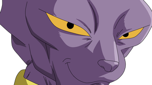 Dragonball Bills [ Beerus ] Lineart Farbig by WallpaperZero