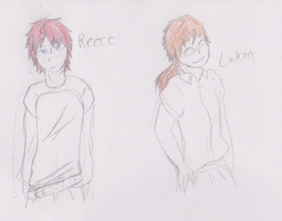 Reece and Laken by goldenstripe