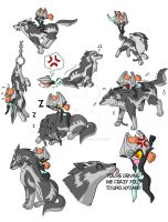 Wolf Link Chaos by Humanoid-Magpie