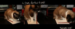 I can draw too by karliashi
