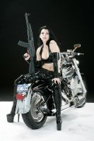Bang  Bang on a Bike 6 by Blaq-Unicorn