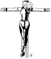 crucified skingirl by ex-skydoll