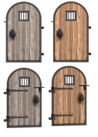 Bryce Doors Set by mysticmorning