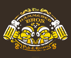 Hammered Bros. [T-shirt] by Versiris
