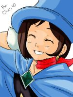 Trucy Wright coloured by xGlueStick