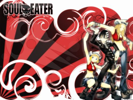 Wallpaper Soul eater by Kirin-Wilder