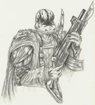 Fanatic Soldier by Plageus