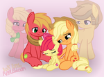 They would be proud of you AppleBloom by ArielSbx