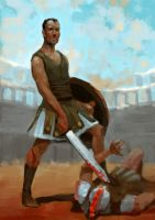 Gladiator by SergeiKrylov