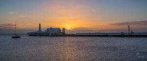 Sunrise over the Pier... by WillCook