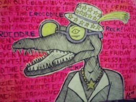 crocodile rock by alexcady