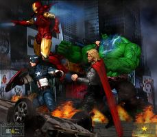 The Avengers by neueziel