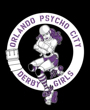 Orlando Psycho City Derby Logo by EricaHesse