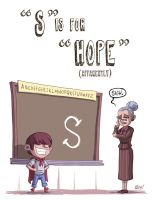 S Is For Hope by OtisFrampton