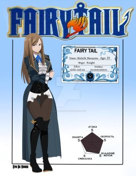  FT OC  Michelle Maruyama ID Card by EvaDeMoore