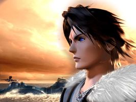 Squall by AerithGainsborough22
