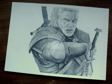 Geralt by AMSketches