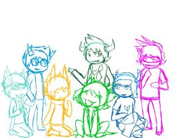 Just a Bunch Of Fantrolls.... by FlamesVoices