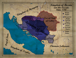 Kingdom of Bosnia by zalezsky