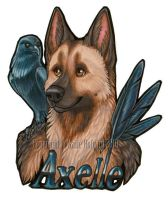 Axelle Badge by Shadow-Wolf