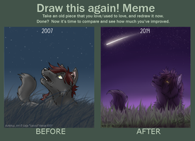 Draw this again - meme by Saiccu