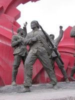 Communist Monument China 2 by OhioErieCanalGirl