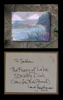 Faery of Lake ShrinkyDink ACEO by hawthorne-cat