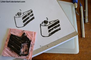 Cake Stamp by Littel-Gerll