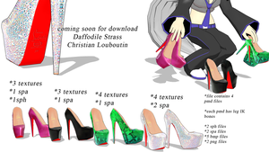 Download coming soon Louboutin Daffodile Strass by chatterHEAD