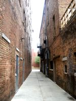 Alley 1 by LittleCrowStudio