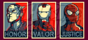 Honor, Valor and Justice by ChrisMcJunkin