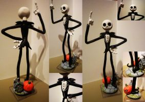 Jack Skellington Figurine by Jelle-C