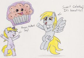 A Mother's Day Muffin by DarkKnightWolf2011