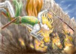 The Fall of Glorfindel by annamare