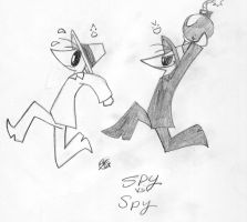 Spy VS Spy: Bomb Chase by NakkiStiltz