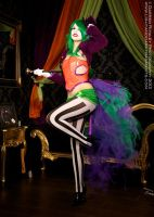 Burlesque Joker Queen by GagaAlienQueen
