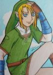 Link ACEO card 2 by LadyNin-Chan