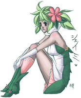 pokemon. shaymin by kiikii-sempai