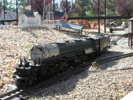 Big Boy 4014 Scale Model by rlkitterman