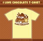 I Love Chocolate - Tee Design by MoogleGurl