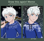 Before and After Jack Frost by DivineSpiritual