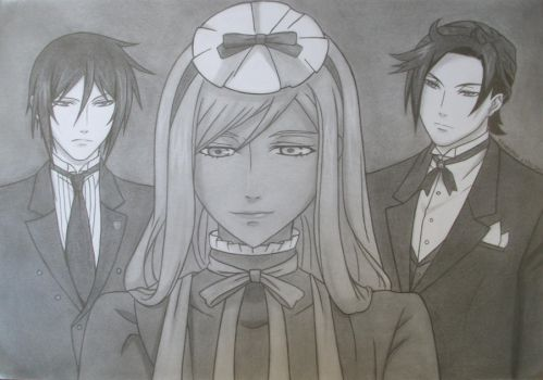The Maid and the Butlers by MistressOfDecay
