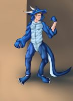 Blue Scales: Part 1 - The Costume by Lucern7