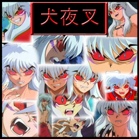 Inuyasha - Demon Collage by Strawberry-of-Love